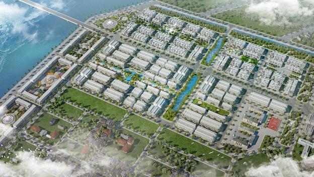 """Palm Village được ví như """"lá phổi xanh"""" của dự án FLC Tropical City Ha Long."""