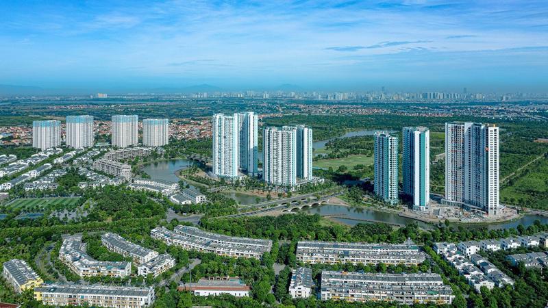 """Khu đô thị Thương mại và Du lịch Ecopark - Dự án có """"Thiết kế cảnh quan khu đô thị tốt nhất thế giới""""."""