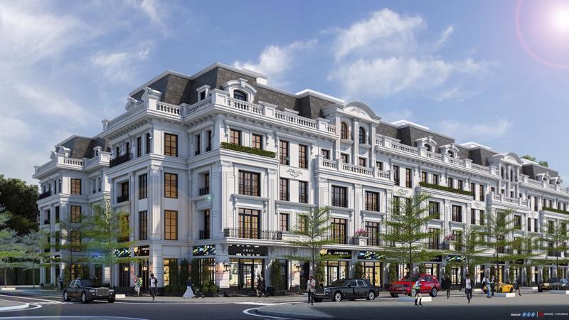 Tọa lạc giữa khuôn viên của dự án FLC Premier Parc, Hausman được xem như trái tim của khu đô thị với tòa chung cư cao 12 tầng, được thiết kế theo lối kiến trúc Pháp cổ điển.