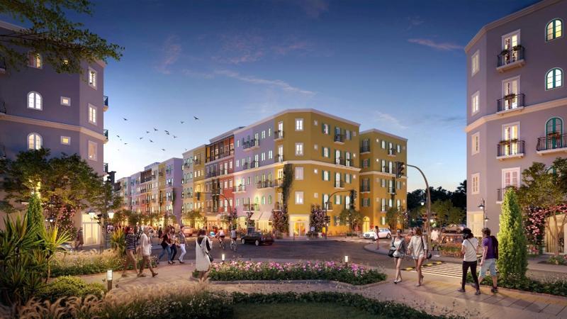 Sun Grand City New An Thoi được quy hoạch theo mô hình bàn cờ.
