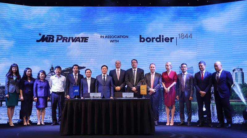 Theo thỏa thuận hợp tác, Bordier sẽ chia sẻ cho MB các kinh nghiệm thành công, quy trình và đào tạo cho các chuyên gia MB tại chi nhánh của Bodier ở Singapore và trụ sở Geneva - Thụy Sỹ.
