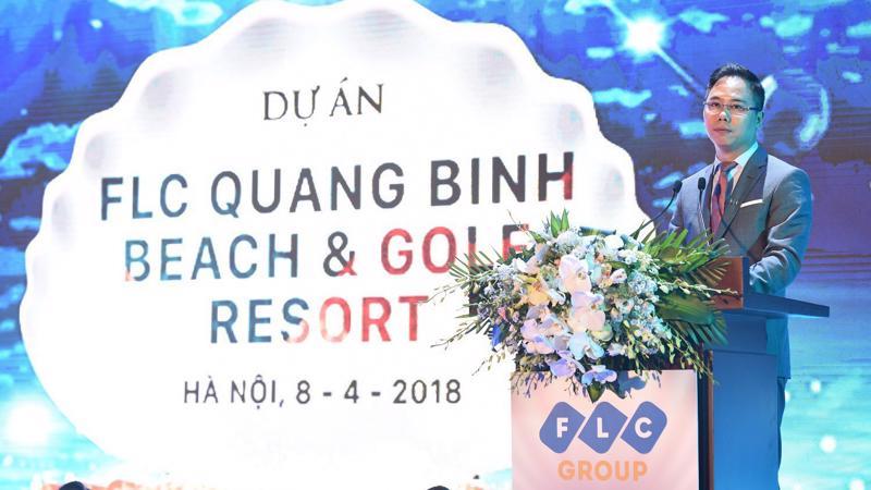 Ông Đặng Tất Thắng, Phó Tổng giám đốc Tập đoàn FLC chia sẻ về siêu dự án Quang Binh Beach Resort.