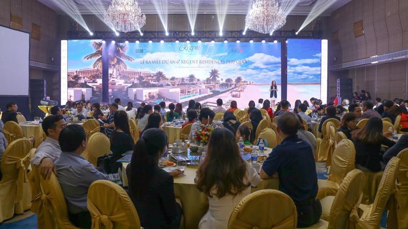 Đại diện BIM Group giới thiệu những điểm nổi bật của dự án 6 sao đầu tiên tại Việt Nam.
