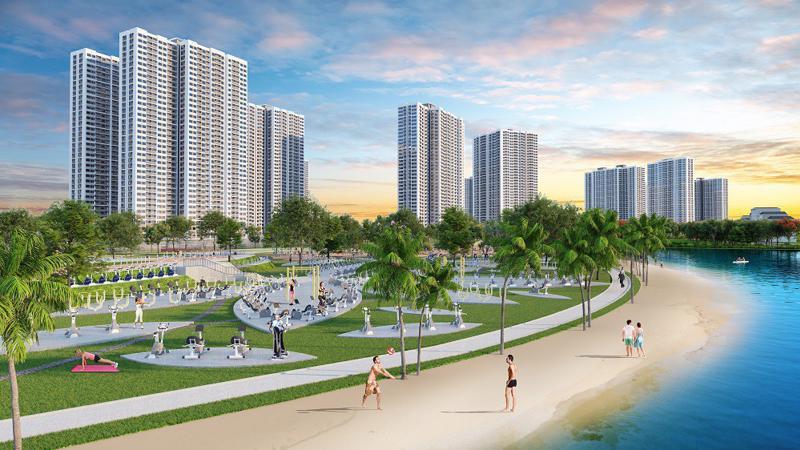 """VinCity Sportia là dự án thứ hai được ra mắt tại Hà Nội trong năm 2018 của dòng thương hiệu VinCity - đại đô thị theo mô hình """"Singapore và hơn thế nữa""""."""