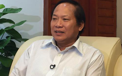 Bộ trưởng Trương Minh Tuấn.