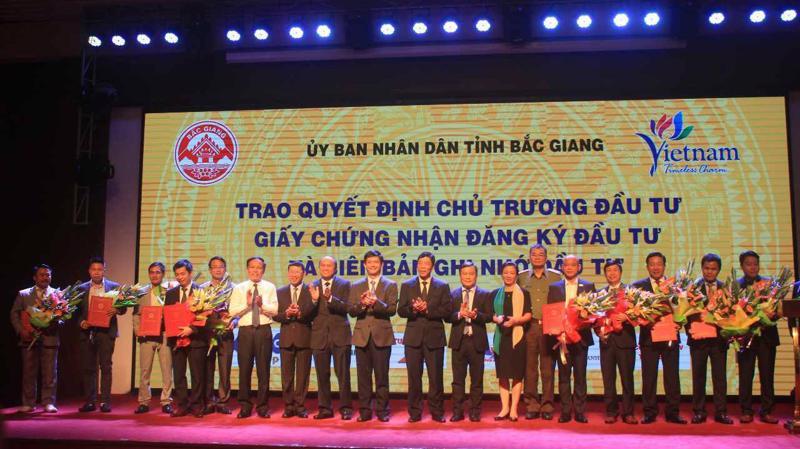 Hội nghị Xúc tiến Đầu tư Du lịch tỉnh Bắc Giang 2018 sáng ngày 10/10.