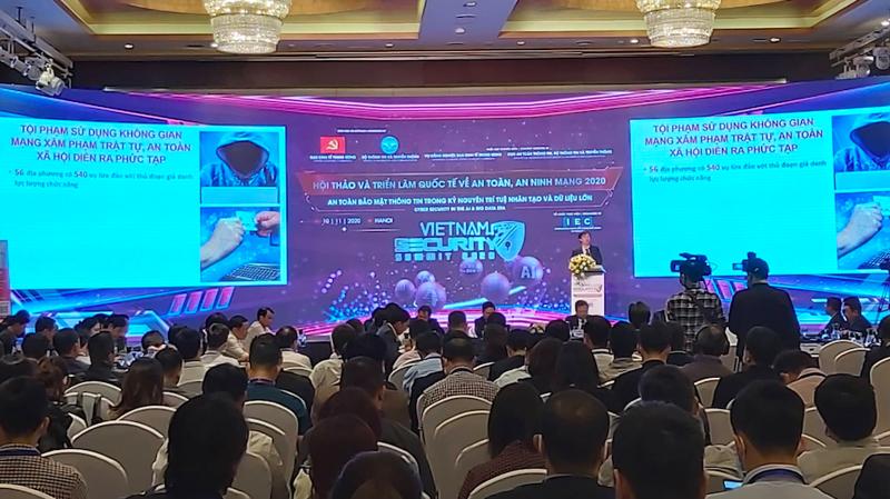 Hội thảo và triển lãm quốc tế về An toàn, an ninh mạng Việt Nam - Vietnam Security Summit 2020 được tổ chức ngày 20/11 tại Hà Nội.
