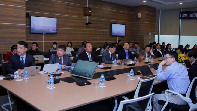 """Tọa đàm """"5G đem đến cơ hội gì cho Việt Nam"""" do Câu lạc bộ Nhà báo Công nghệ thông tin Việt Nam (Vietnam ICT Press Club) tổ chức, ngày 17/12."""