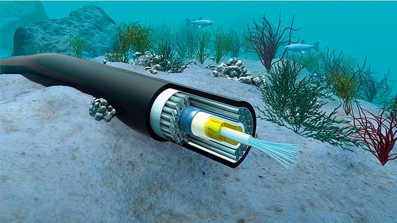 Hai tuyến cáp quang biển quốc tế APG và IA gặp sự cố ngay những ngày đầu năm 2021 - ảnh minh họa.