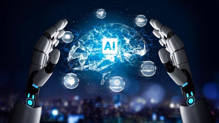 Mục tiêu đến năm 2025, AI được ứng dụng rộng rãi trong hành chính công, dịch vụ trực tuyến giúp giảm thời gian xử lý công việc, nhân lực bộ máy... - ảnh minh họa.