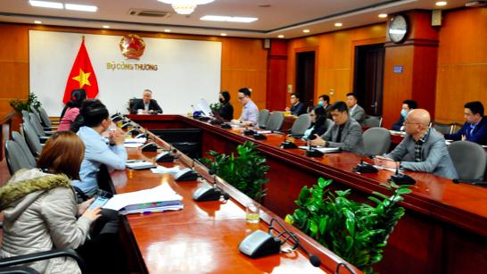 Bộ Công Thương họp khẩn về tình hình ứng phó với dịch Covid-19 chiều ngày 28/1.