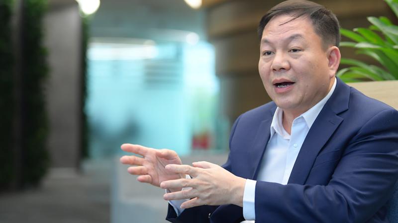 Quyền chủ tịch kiêm Tổng giám đốc Tập đoàn Viettel Lê Đăng Dũng - Ảnh: M.Chung.