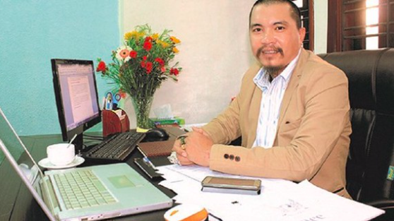 Chủ tịch HĐQT Công ty cổ phần VNCOINS Nguyễn Hữu Tiến.