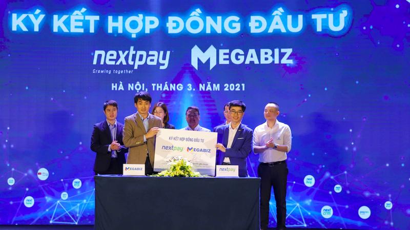 Lễ ký kết hợp đồng đầu tư vào 3 start-up của Nexttech sáng 31/3.