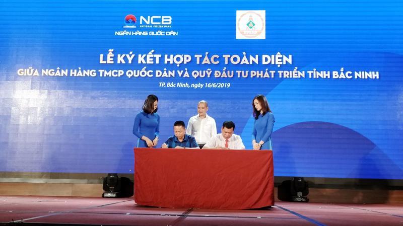 Biên bản ghi nhớ giữa NCB và Quỹ Đầu tư phát triển Bắc Ninh sẽ mở ra nhiều cơ hội hợp tác mới.