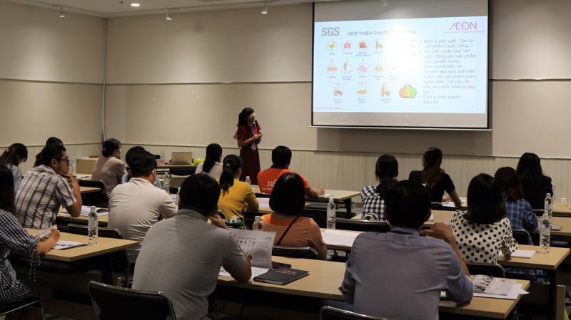 Các khóa học được AEON Việt Nam tổ chức nhằm nâng cao kiến thức cho Nhà cung cấp.