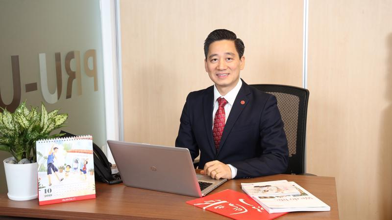 Anh Bùi Quang Nam - Giám đốc cấp cao bộ phận phát triển kinh doanh toàn quốc - kênh đại lý của Prudential.