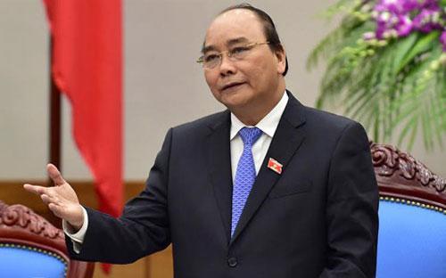Thủ tướng Chính phủ Nguyễn Xuân Phúc.<br>
