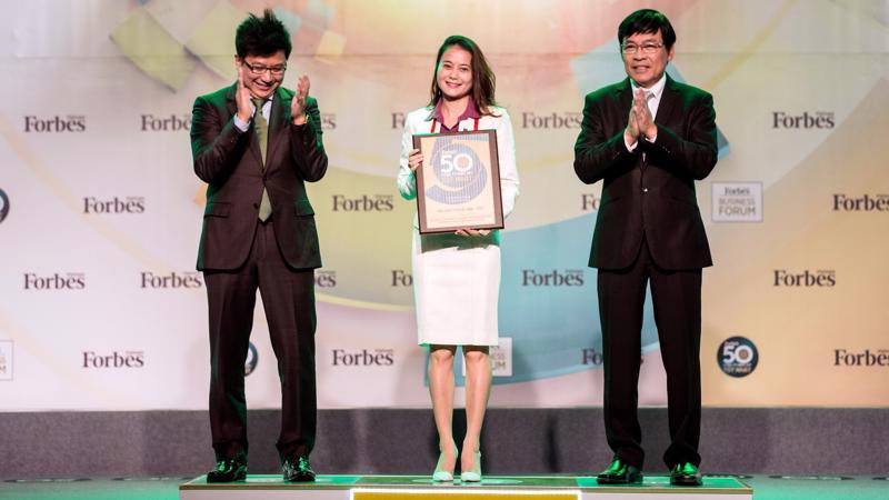 PV GAS được Forbes trao Chứng nhận Top 50 công ty niêm yết tốt nhất Việt Nam.