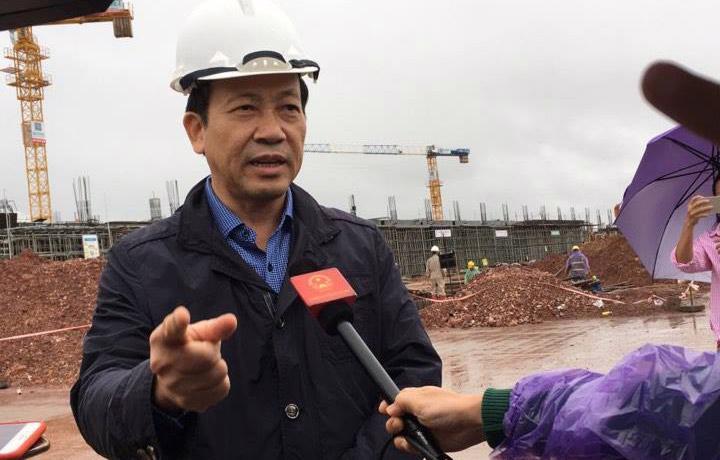 Phó chủ tịch UBND tỉnh Quảng Ninh, ông Nguyễn Văn Thành.