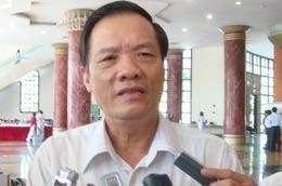 Chủ nhiệm Văn phòng Quốc hội Trần Đình Đàn trả lời phỏng vấn báo chí - Ảnh: LN.