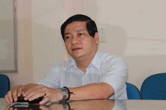 Ông Phan Hải, Giám đốc Công ty giày B.Q, Phó chủ tịch Hội Doanh nhân trẻ thành phố Đà Nẵng - Ảnh: Vĩnh Hoàng.