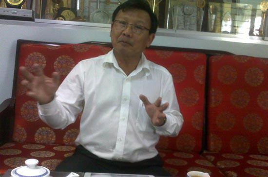 Ông Văn Đức Mười, Tổng giám đốc Công ty TNHH Một thành viên Kỹ nghệ súc sản (Vissan) - Ảnh: Hải Hà.