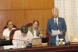 Ủy ban Thường vụ Quốc hội sẽ cho ý kiến về một số dự án luật mới tại phiên họp thứ 31.