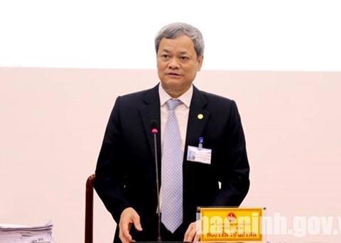 Chủ tịch UBND tỉnh Bắc Ninh Nguyễn Tử Quỳnh.<br>