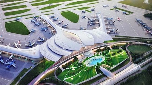 Diện tích giải phóng mặt bằng giai đoạn 1 cho sân bay Long Thành cơ bản đã xong.