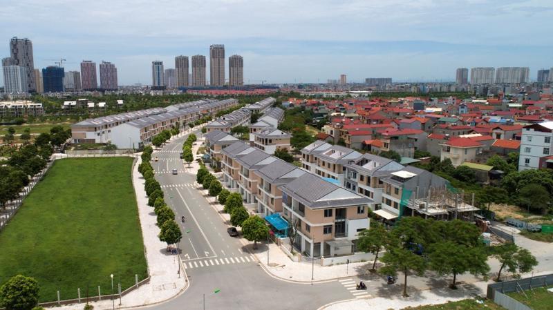 Tuyến đường rộng 27m nâng cao giá trị kinh doanh của An Phú Shop-villa.