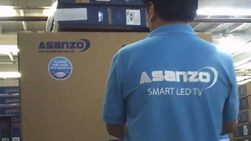 Asanzo là thương hiệu điện tử thuộc top 3 tại Việt Nam.