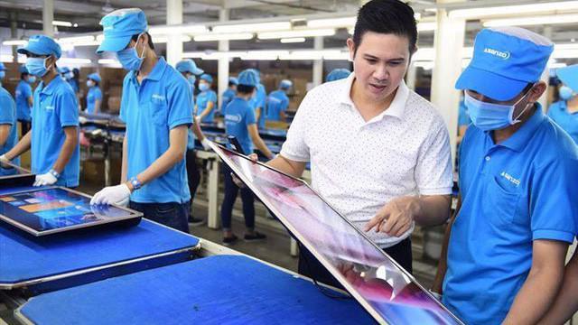 Trên tờ khai hải quan, Asanzo khai hàng hóa có xuất xứ Trung Quốc.