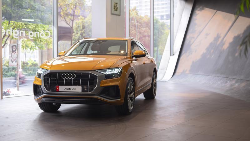 Điểm nhấn ở Audi Q8 mới chính là kiểu dáng thiết kế dạng coupe.