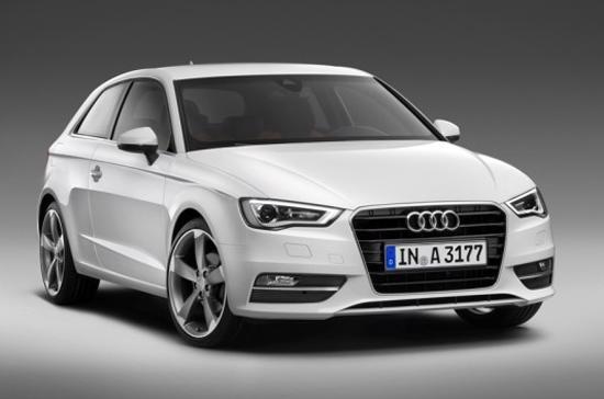 Audi A3 hatchback 2013 sẽ có mức giá bán tại châu Âu dao động từ 19.205 bảng Anh tới 26.560 bảng cho 3 phiên bản SE, Sport và S - Ảnh: Audi.