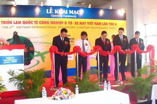 Sài Gòn Autotech 2010 khai mạc ngày 2/6.