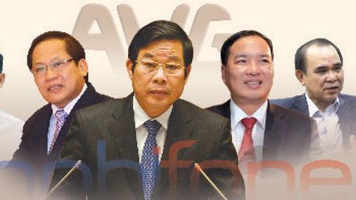 Từ trái qua: ông Trương Minh Tuấn, ông Nguyễn Bắc Son, ông Lê Nam Trà, ông Cao Duy Hải - Ảnh: TT.