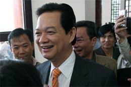 Thủ tướng đã sẵn sàng đối thoại, tranh luận cởi mở, thẳng thắn với đại biểu tại phiên chất vấn tới - Ảnh: LQP.
