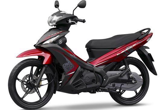 Lexam là mẫu xe đầu tiên ứng dụng công nghệ mới CVT của Yamaha.