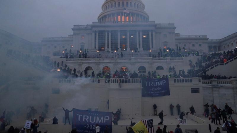 Trung Quốc phát cảnh báo với công dân nước này tại Mỹ sau các cuộc biểu tình tại Washington ngày 6/1 - Ảnh: Reuters