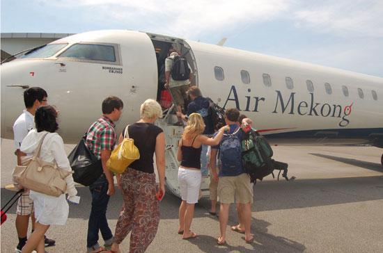 Bắt đầu hoạt động từ tháng 10/2010, Air Mekong hiện có hơn 30 chuyến bay mỗi ngày.