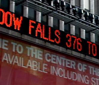 Chỉ số Dow Jones phiên này đã giảm gần 2% - Ảnh: Reuters.