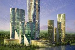 Phương án kiến trúc dự án Trung tâm Thương mại - Dịch vụ - Văn hóa tại Giảng Võ.