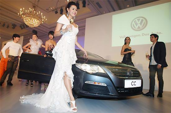 Mẫu xe CC do Volskwagen sản xuất - Ảnh: Đức Thọ.