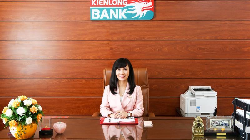 Bà Trần Tuấn Anh, Tổng Giám đốc Kienlongbank