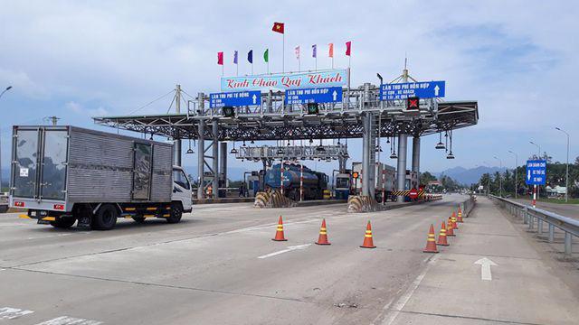 Bộ Giao thông sẽ xem xét giảm thu phí BOT Bắc Bình Định.