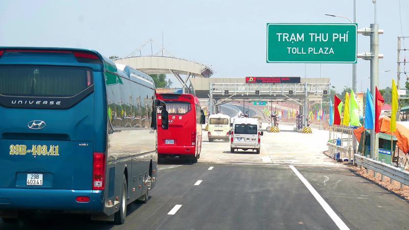 Tuyến đường Cao tốc Bắc Giang - Lạng Sơn đi vào khai thác sẽ rút ngắn thời gian đị lại từ Hà Nội - Lạng Sơn từ hơn 3h đồng hồ còn 2h30 phút.