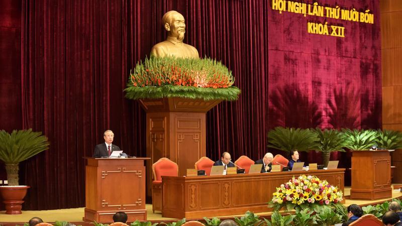 Hội nghị đã bỏ phiếu biểu quyết nhân sự Bộ Chính trị, Ban Bí thư khóa XIII.