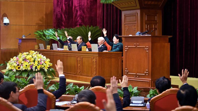 Tổng Bí thư, Chủ tịch nước nhấn mạnh những kết quả đạt được trong nhiệm kỳ Đại hội XII có ý nghĩa cực kỳ quan trọng, là điểm tựa cho những năm tiếp theo.
