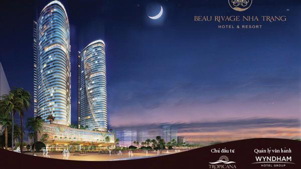 Phối cảnh dự án Beau Rivage Nha Trang.